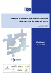 Study on Blue Growth, Maritime Policy and the EU Strategy for the Baltic Sea Region (December 2013)